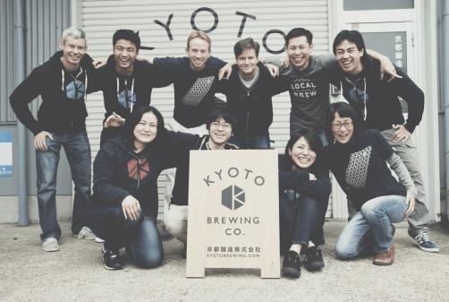 Kyoto Brewing Company Crew ・京都醸造スッタフ