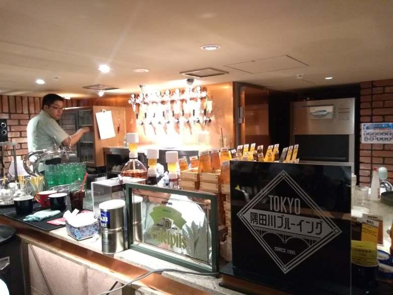 Beer House Moriu Inside・ビールハウス森卯店内