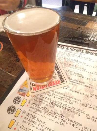 Takadanobaba Beer Shokudo Beer 3・高田馬場ビール食堂ビール3