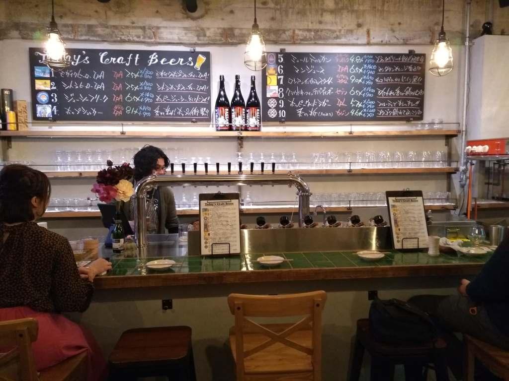 Takadanobaba Beer Shokudo Inside・高田馬場ビール食堂店内