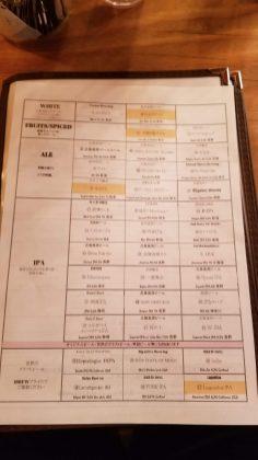 Craft Beer Bar iBrew Akihabara Beer 1・クラフトビアバル IBREW 秋葉原ビール1