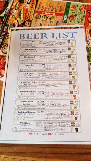 Y Market Brewing Kitchen Beer 1・ワイマーケットブルーイングキッチンビール1