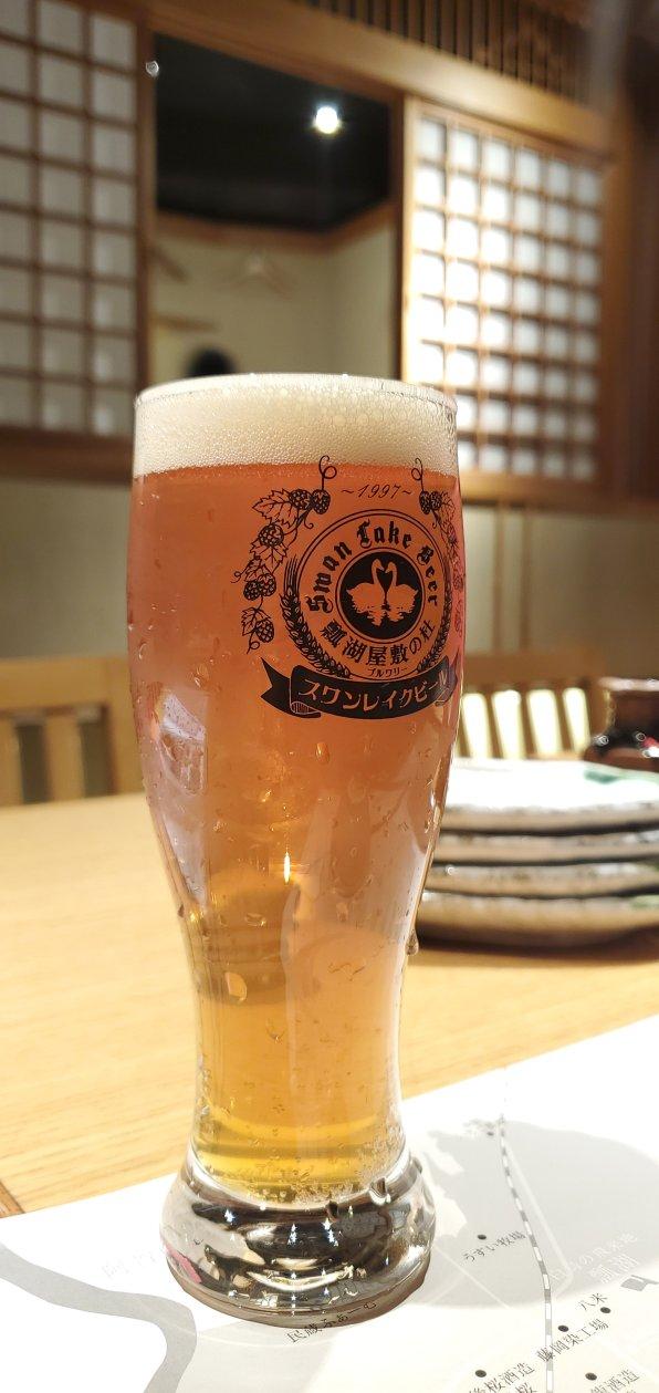 Swan Lake Pub Edo Shinjuku Beer 2・スワンレイクパブエド修蔵 新宿店ビール2