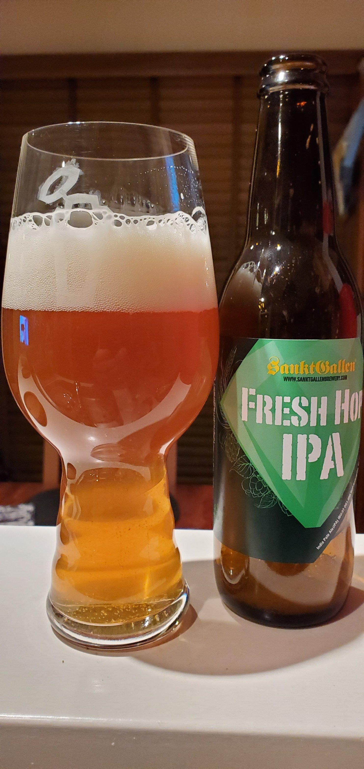 Sankt Gallen Fresh Hop IPA 1・サンクトガーレンフレッシュホップIPA1