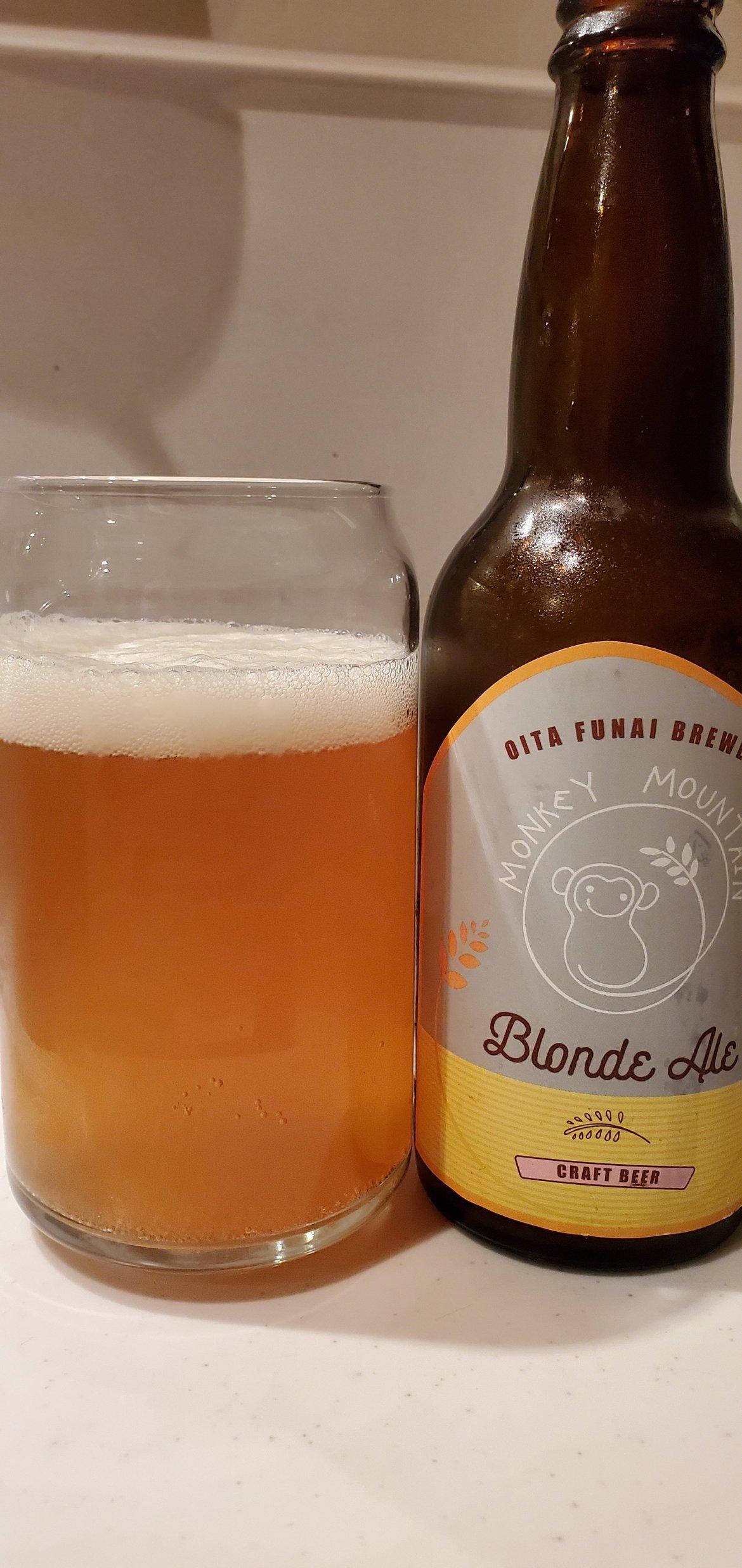 Monkey Blonde Ale・モンキーブロンドエール
