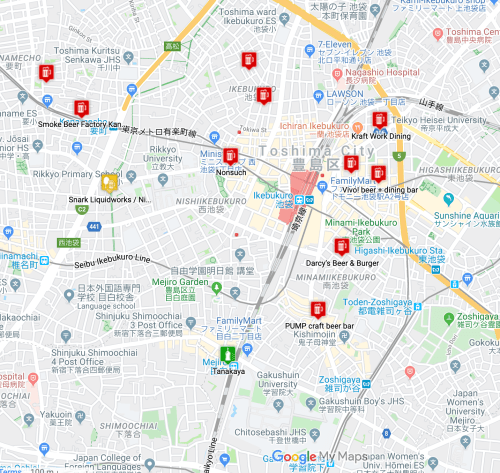 Kanto's Best Drinking Areas Ikebukuro