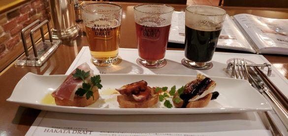Craft Beer & Pizza Okura Brewery Beer3・地ビール&ピッツァ オークラブルワリービール3