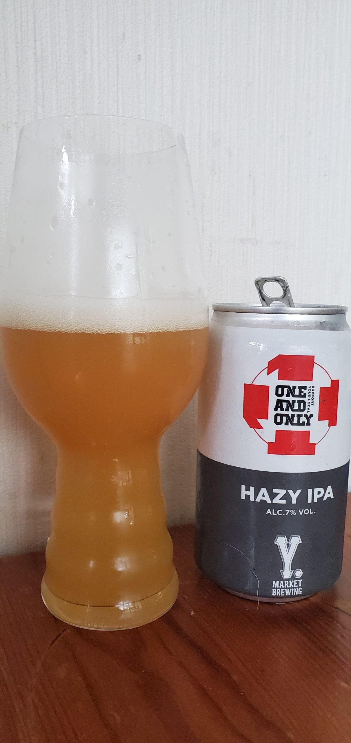 Y Market One and Only Hazy IPA・ワイマーケット ワンアンドオンリー ヘイジーIPA