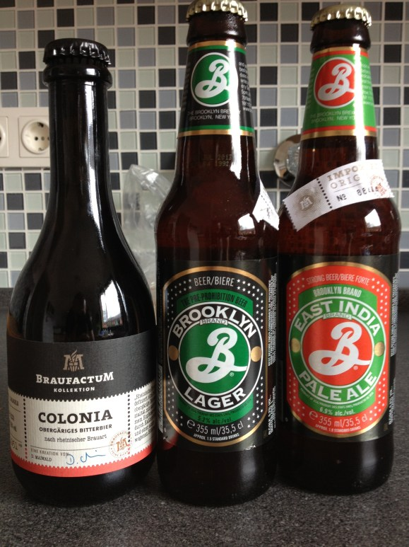 Braufactum Colonia, Brooklyn Brewery Lager, Brooklyn Brewery EIPA
