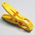 Yellow Bee Safe Clip