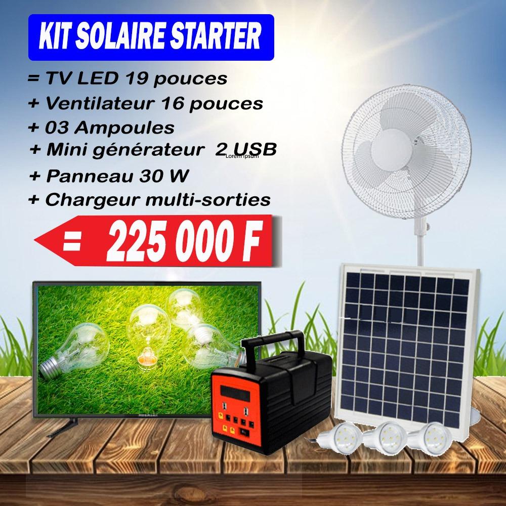 kit solaire starter