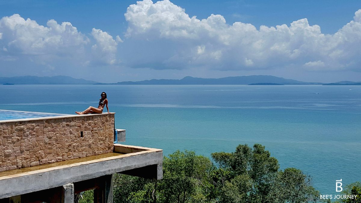 Infinity pool at Santhiya Resort and Spa Koh Yao Yai Thailand, luxury travel blog.