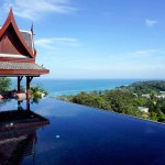 Villa Baan Phu Prana. Luxury private boutique villa rooftop infinity pool. Phuket, Thailand. Visit www.beesjourney.com for Bee's Journey - Inspirational Travel and Lifestyle Blog.