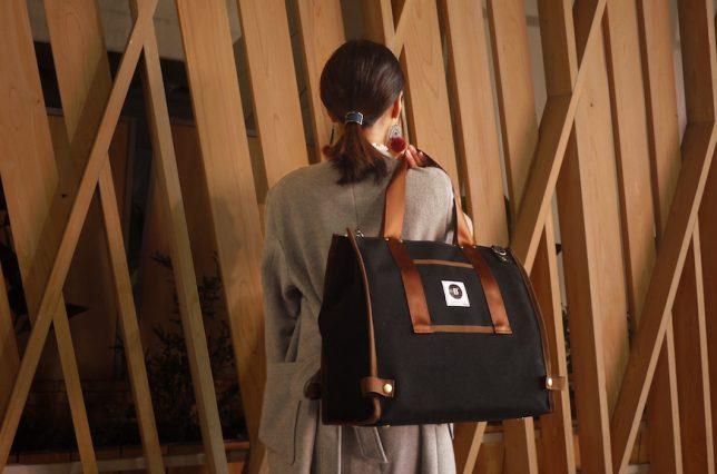 女性が持てるレコードバッグ