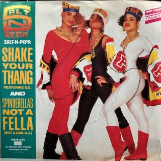 "Salt 'N' Pepa Featuring E.U. / Shake Your Thang (7"")"