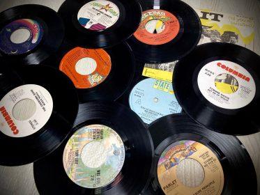 500円レコードSoul/Funkの7インチ