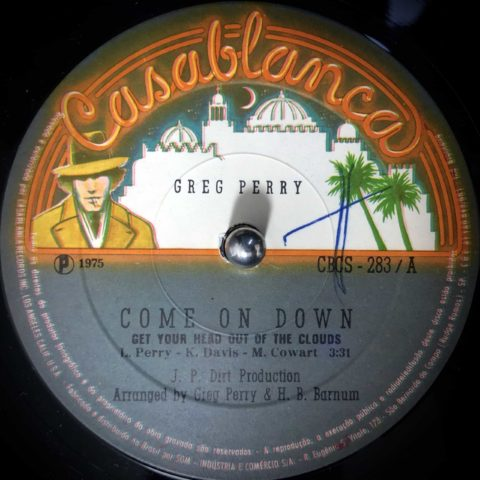 Greg Perry / Come On Down