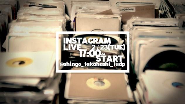 IG LIVE DJ配信