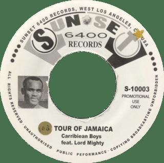Tour Of Jamaica CARRIBEAN BOYS