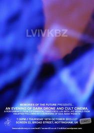 LVIVKBZ gig poster