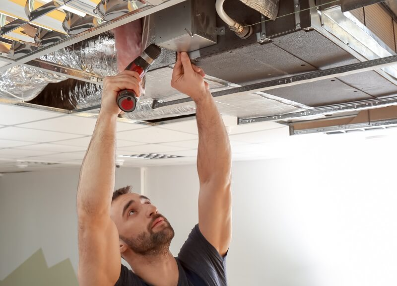 ducted heating repairs