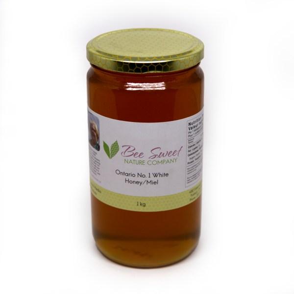 1kg Bottled Honey