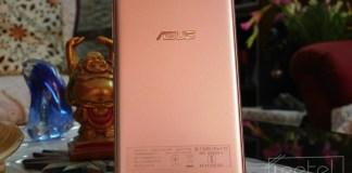 Asus Zenfone Live back