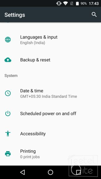 Settings and Apps Backup