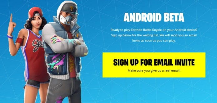 fortnite, android, samsung