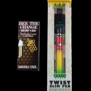 CBD Vape Cartridge + Battery Starter Kit