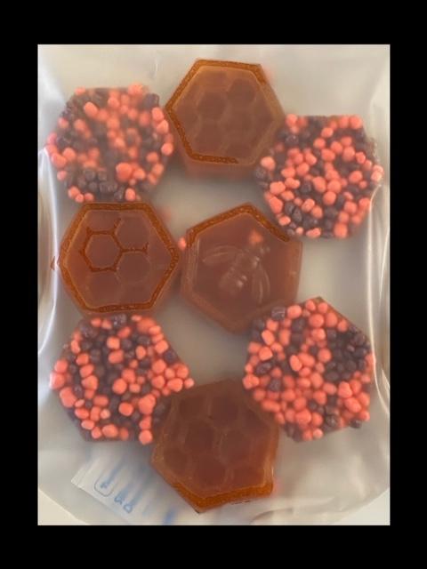 50mg CBD Honeycomb Gummi Bites