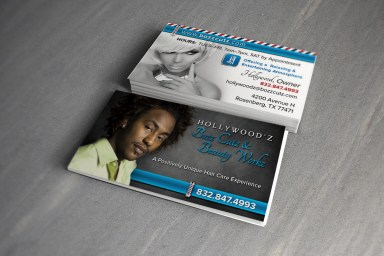 Bozz Cutz Business Cards