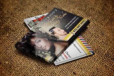 Bozz Cutz Business Cards