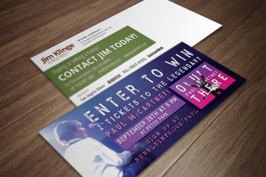 Concert Ticket Promotion - Klinge Realty