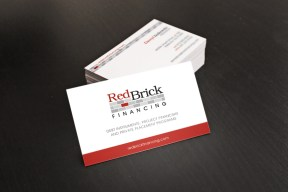 RedBrick Financing Business Card