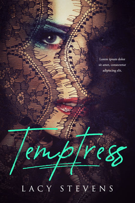 Temptress - Romance Premade Book Cover For Sale @ Beetiful Book Covers