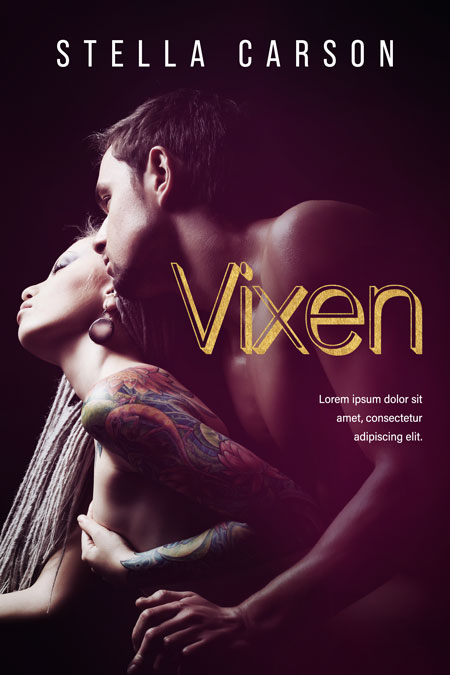 Vixen - Erotic Romance / Erotica Premade Book Cover For Sale @ Beetiful Book Covers