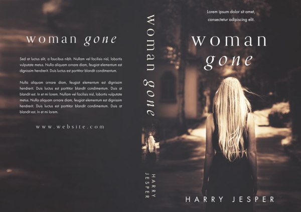 Woman Gone - Mystery / Psychological Thriller Premade Book ...