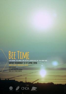 Bee Time 1 Residencia artística, Primavera 2016