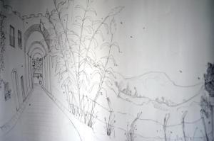 Vejer de la Miel, illustration by Sarah Dowling