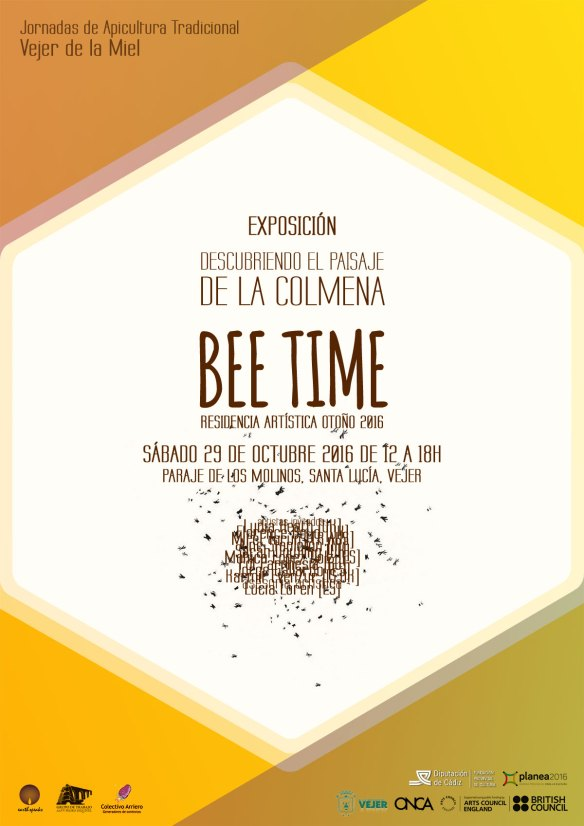 Bee Time exhibition poster