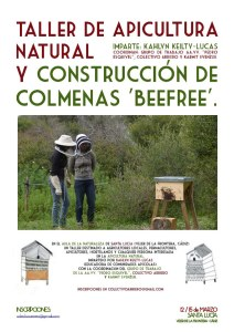 Natural beekeeping course with Kahlyn Keilty Lucas Spring 2015