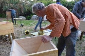 Hive making workshop, Spring 2015