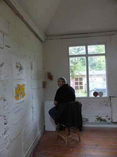 Exhibition of work in progress