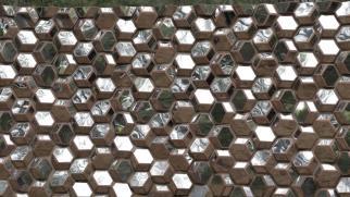 The NMAC's Quasi brick wall by Olafur Eliasson always inspire us