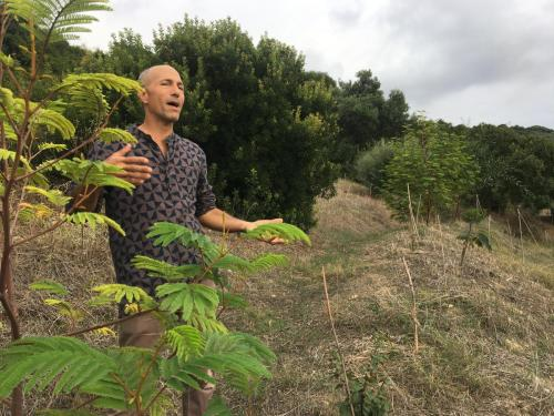 We visit Andrew Zionts at permaculture project La cuartilla