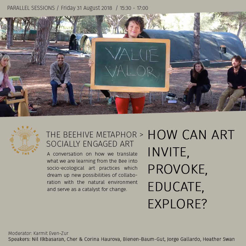How can art invite, provoke, educate, explore?
