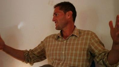 en la conferencia 'Aprendiendo de las abejas' en Berlin