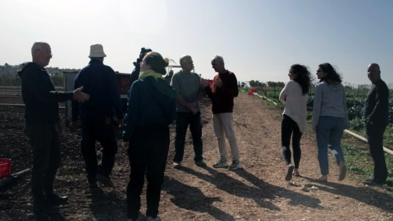 Up to the North again: With Arnon from Harduf, a biodynamic agricultural and social inclusion project