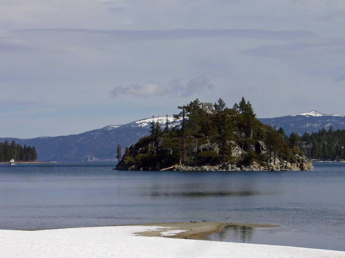 Fannette Island from Vikingsholm Castle